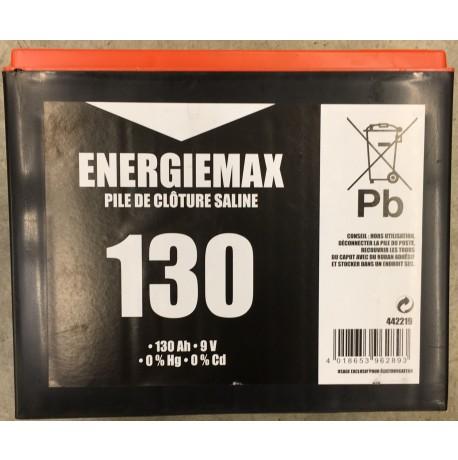 Pile saline 9 volts 130 ah