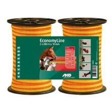 Economy line orange 10mm 2x200m