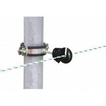 Kit de 4 isolateurs pour piquets ronds