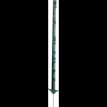 5 piquets plastique 1.05m avec double talon